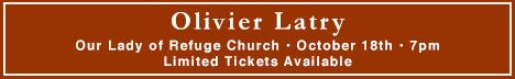 Olivier Latry at Our Lady of Refuge Church, Brooklyn
