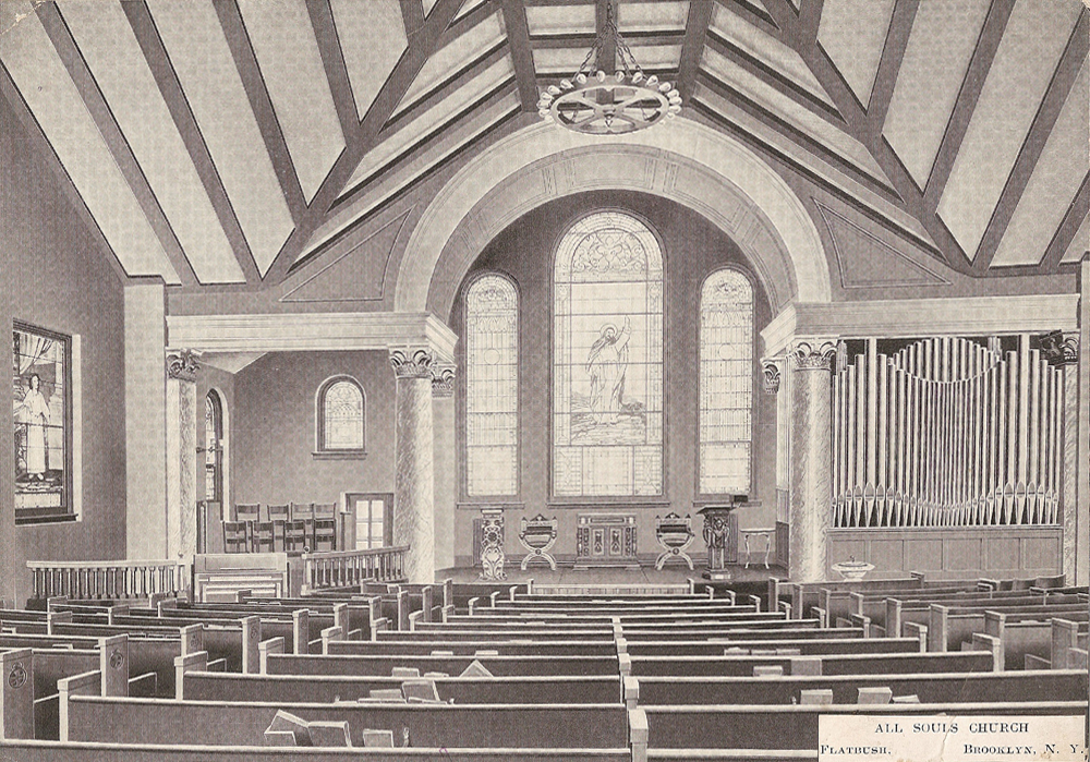 All Souls Universalist Church - Brooklyn, NY (Estey Organ Company, 1905)