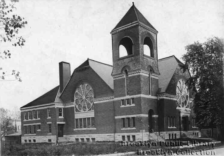 Andrews Methodist Episcopal Church - Brooklyn, N.Y. (1905, Brooklyn Public Library)