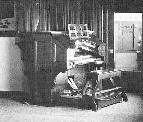 A. Gottfried Co. organ (1920s) in Radio Station WHK - Cleveland, OH