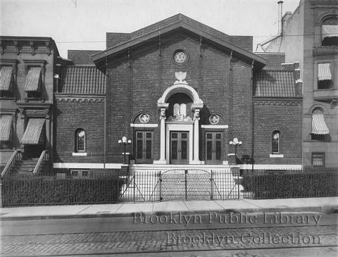 Congregation B'nai Sholaum - Brooklyn, N.Y. (Brooklyn Eagle, 1915)