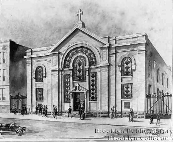 Cornerstone Temple Methodist Episcopal Church - Brooklyn, N.Y.