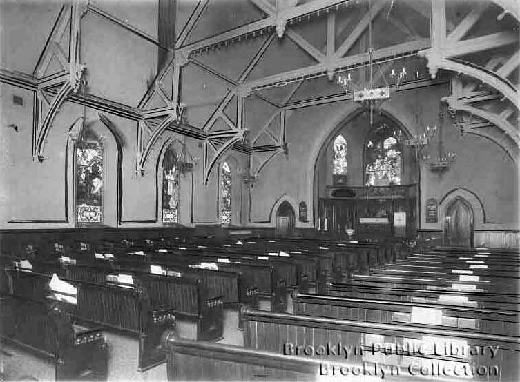 Emanuel Lutheran Church - Brooklyn, N.Y. (BPL, Brooklyn Collection)