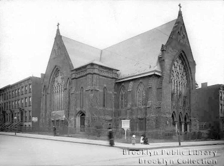 First Baptist Church of Williamsburg - Brooklyn, N.Y. (BPL, Brooklyn Collection, 1905)