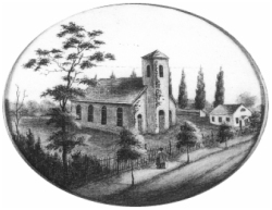 Second building (1776) of Old First Reformed Church - Brooklyn, NY