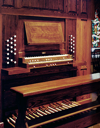Russell & Company Organ, Op. 28 (1994) at the Lutheran Church of the Good Shepherd - Brooklyn, New York (photo: Russell & Company)
