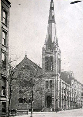 Grace United Methodist Church - Brooklyn, N.Y. (Brooklyn Eagle Postcard, 1907)