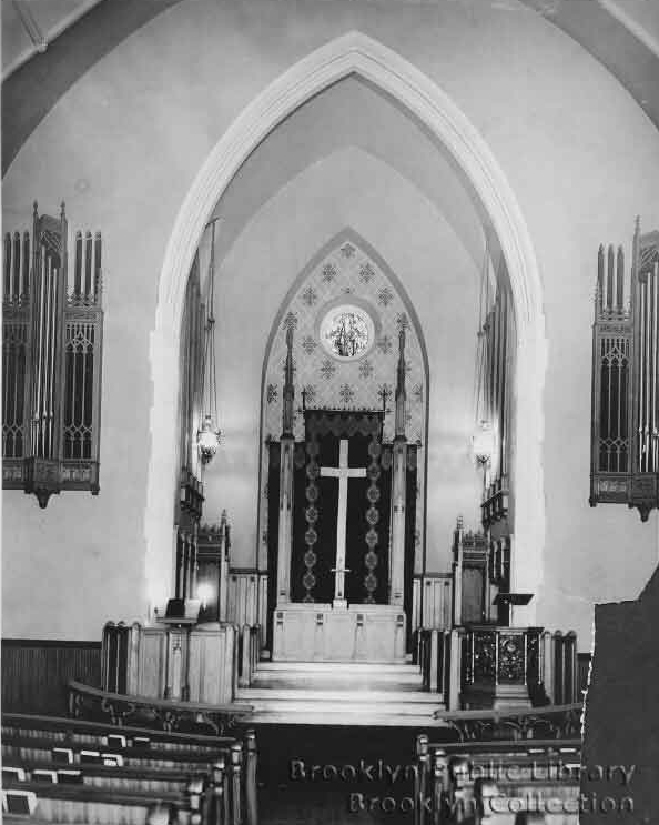 M.P. Möller Organ, Op. 5736 (1930) in Grace United Methodist Church - Brooklyn, N.Y. (Brooklyn Eagle, 1930)