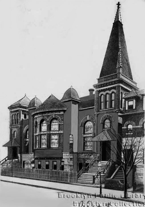 Greene Avenue Baptist Church - Brooklyn, N.Y. (Brooklyn Eagle, 1944)