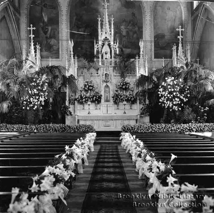 Roman Catholic Church of the Holy Name of Jesus - Brooklyn, NY (Brooklyn Public Library, Brooklyn Collection)