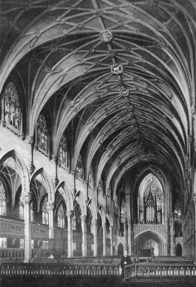 Holy Trinity Episcopal Church - Brooklyn Heights, New York (ARCHITECTUAL INSTRUCTOR by Minard Lafever)
