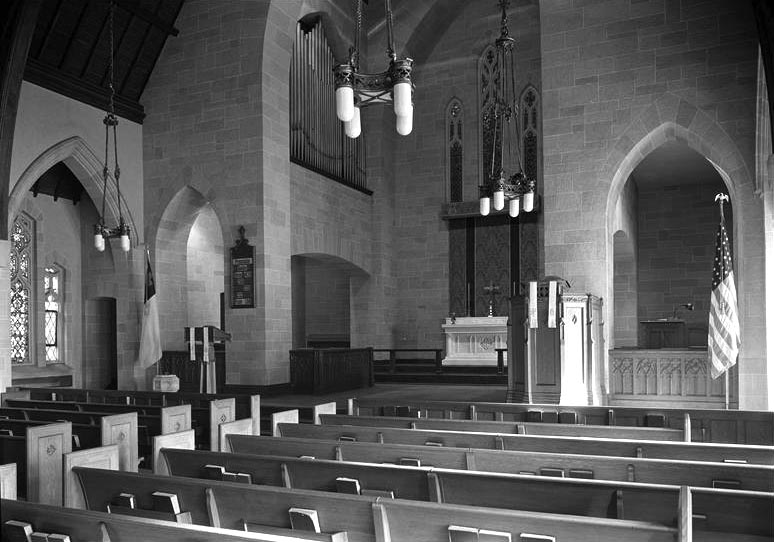 Incarnation Lutheran Church - Brooklyn, N.Y. (photo: Samuel H. Gottscho, 1930)