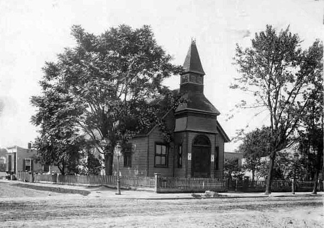 1906 building of Church of Our Lady of Guadalupe - Brooklyn (Brooklyn Daily Eagle, Brooklyn Public Library Brooklyn Collection)