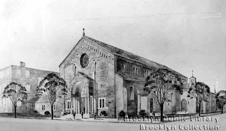 Church of Our Lady of Guadalupe - Brooklyn (Brooklyn Public Library Brooklyn Collection)