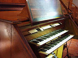 Austin Organ, Op. 2594 (1975) at Church of Our Lady of Guadalupe - Brooklyn (photo: Steven E. Lawson)