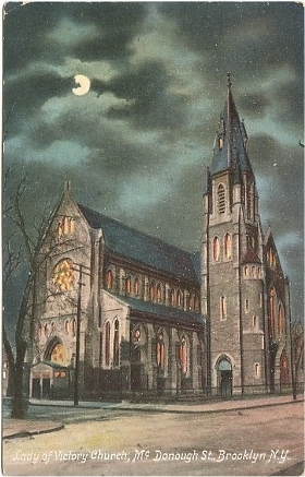 Our Lady of Victory Catholic Church - Brooklyn, New York (1907 Postcard)
