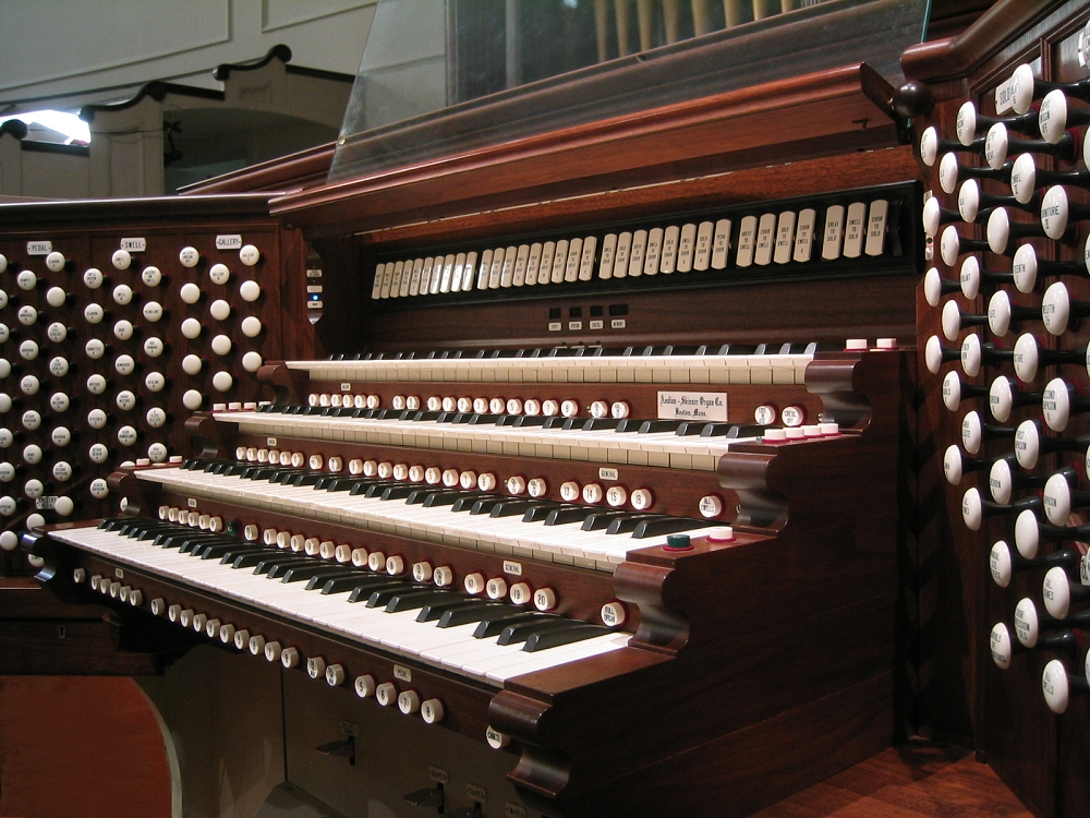 Aeolian-Skinner Organ, Op. 964 (1937) at Plymouth Church - Brooklyn Heights, New York (Photo: Steven E. Lawson)