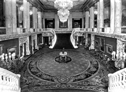 Grand Foyer of RKO Albee Theatre - Brooklyn, N.Y. (photo: AJWB Collection)