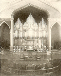 Reuben Midmer & Sons Organ (1902) in Simpson Methodist Episcopal Church - Brooklyn, NY