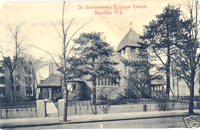 St. Bartholomew Episcopal Church - Brooklyn, N.Y. (1908 postcard)
