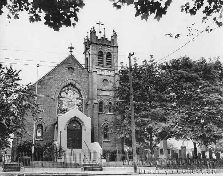 St. John Reformed German Evangelical Lutheran Church - Brooklyn, N.Y. (BPL, 1946)