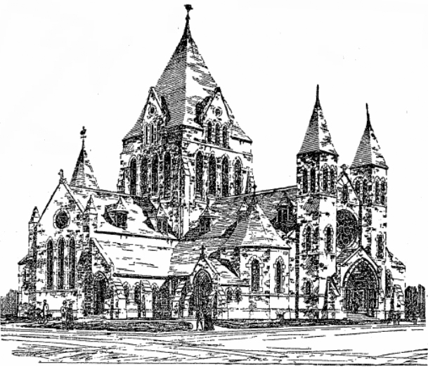 1899 Proposal for St. Mark's Episcopal Church Parish House - Brooklyn, N.Y.