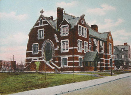 Parish House of St. Mark's Episcopal Church - Brooklyn, N.Y. (1910 Postcard)