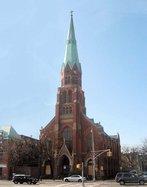 St. Mark Evangelical Lutheran Church - Brooklyn, N.Y. (photo: Matthew X. Kiernan, 2012)