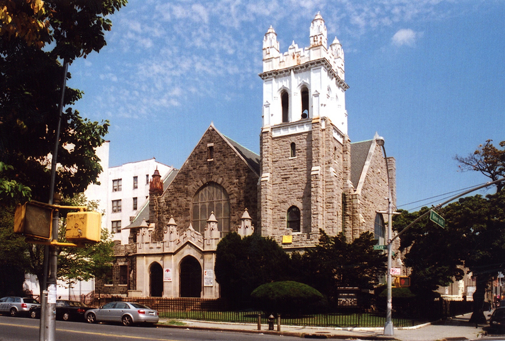 St. Mark United Methodist Church - Brooklyn, N.Y. (photo: Matthew X. Kiernan)