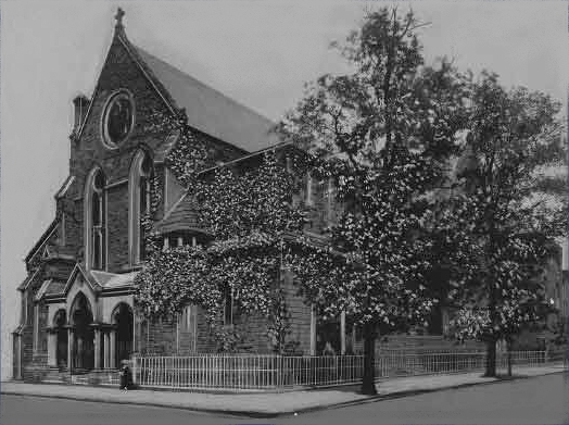 St. Paul's Episcophal Church - Brooklyn, N.Y. (1944 photo: Brooklyn Daily Eagle; Brooklyn Public Library, Brooklyn Collection)