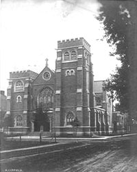 St. Paul's Episcopal Church in Flatbush - Brooklyn, N.Y. (vintage postcard)