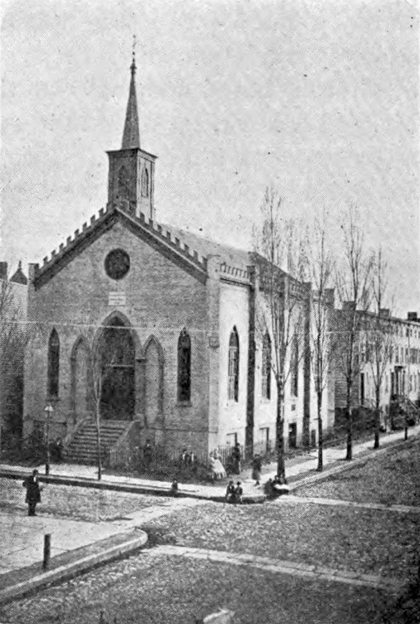 St. Paul Lutheran Church (1852) - Williamsburg, Brooklyn, N.Y.