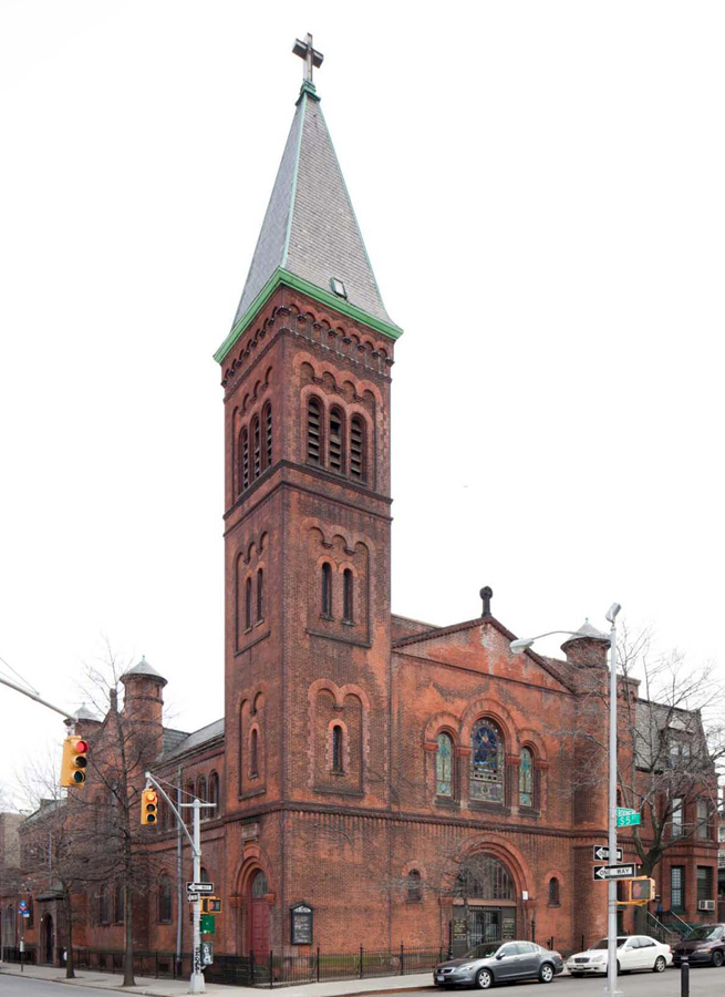 St. Paul Evangelical Lutheran Church (Williamsburg) - Brooklyn, N.Y. (photo: Christopher D. Brazee, 2011)