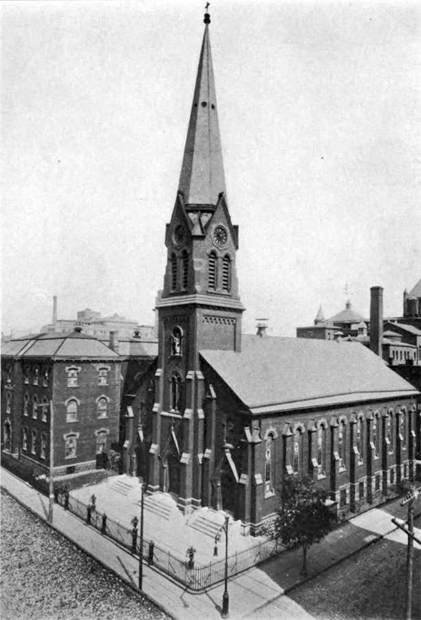 St. Peter Catholic Church - Brooklyn, N.Y. (Brooklyn Eagle post card, c.1905)