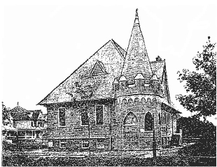 1902 Chapel of Vanderveer Park Methodist Church - Brooklyn, New York