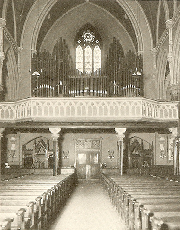 Reuben Midmer & Sons organ (1917) in the Visitation of the Blessed Virgin Mary Catholic Church - Brooklyn, NY
