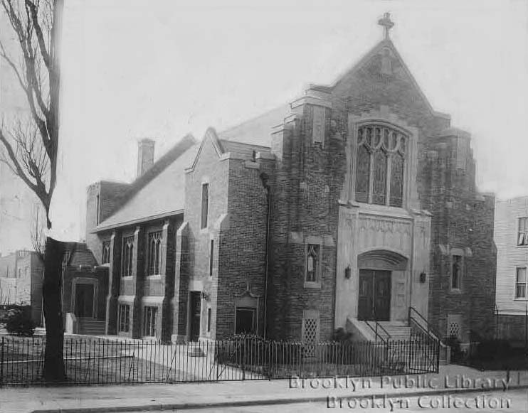 Swedish Evangelical Lutheran Zion Church - Brooklyn, New York (Brooklyn Eagle, Feb. 11, 1931)