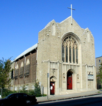 All Saints Lutheran Church - Bronx, NY (photo: David Schmauch)