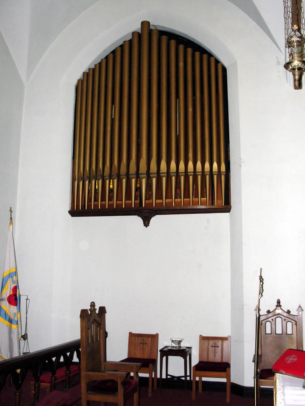 A. Gottfried & Co. organ (1929) in The Evangelical Lutheran Church of the Epiphany - Bronx, NY (photo: John Klauder)