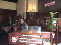 Console of M.P. Möller Organ, Op. 10472 (1968) in the First Congregational Church of Morrisania - Bronx, New York