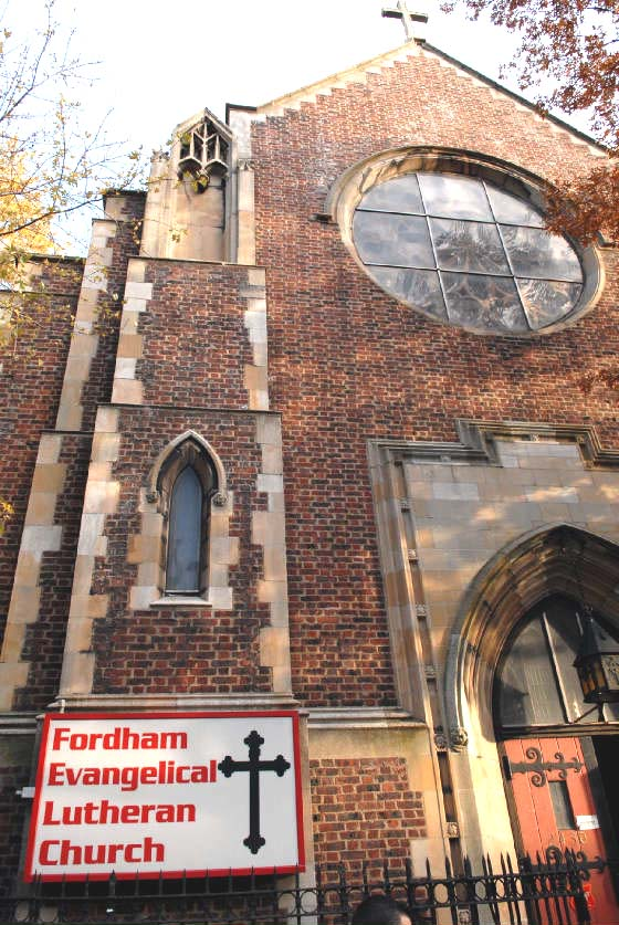 Fordham Evangelical Lutheran Church - Bronx, N.Y.
