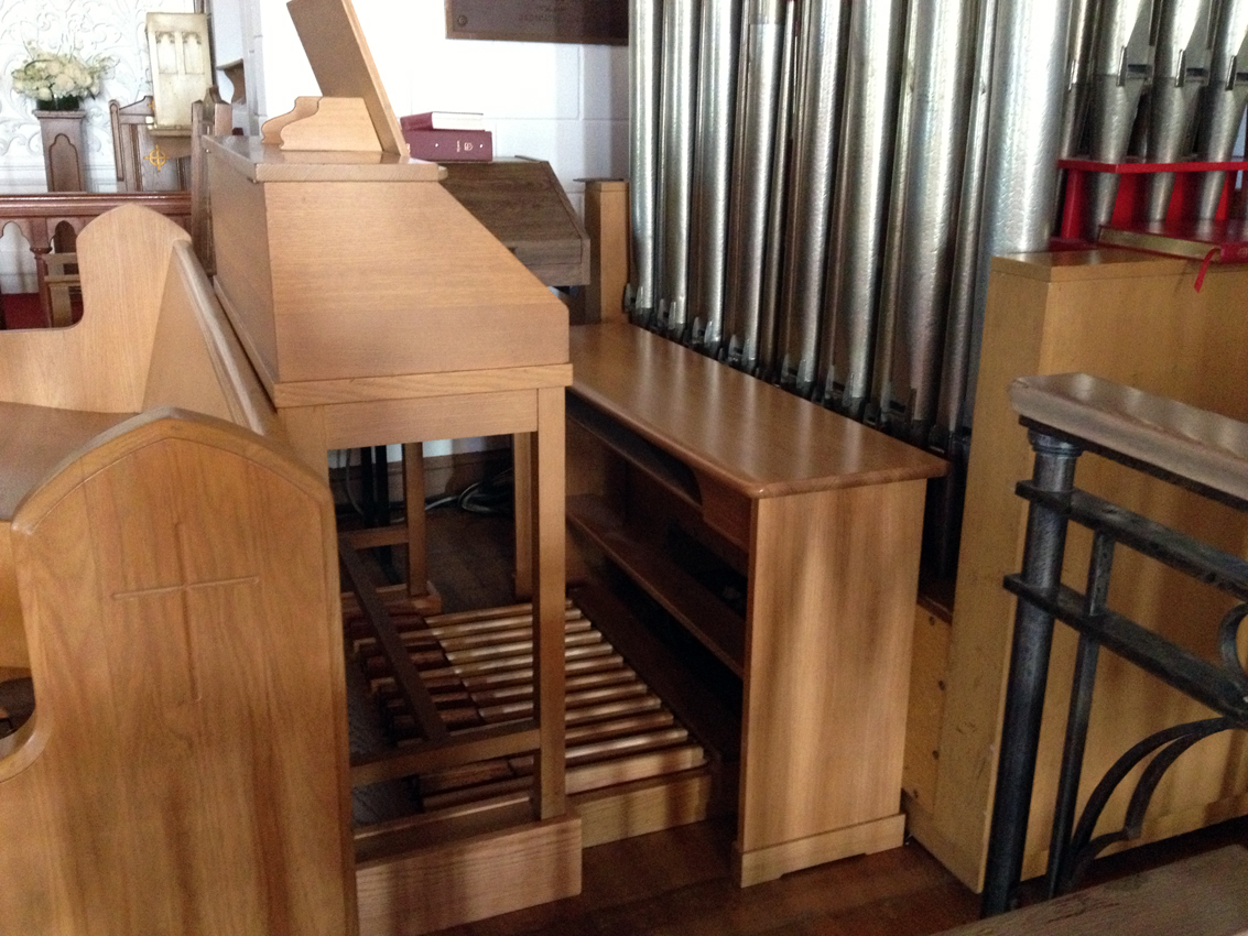M.P. Möller organ in Grace Episcopal Church - City Island (Bronx), NYC, NY