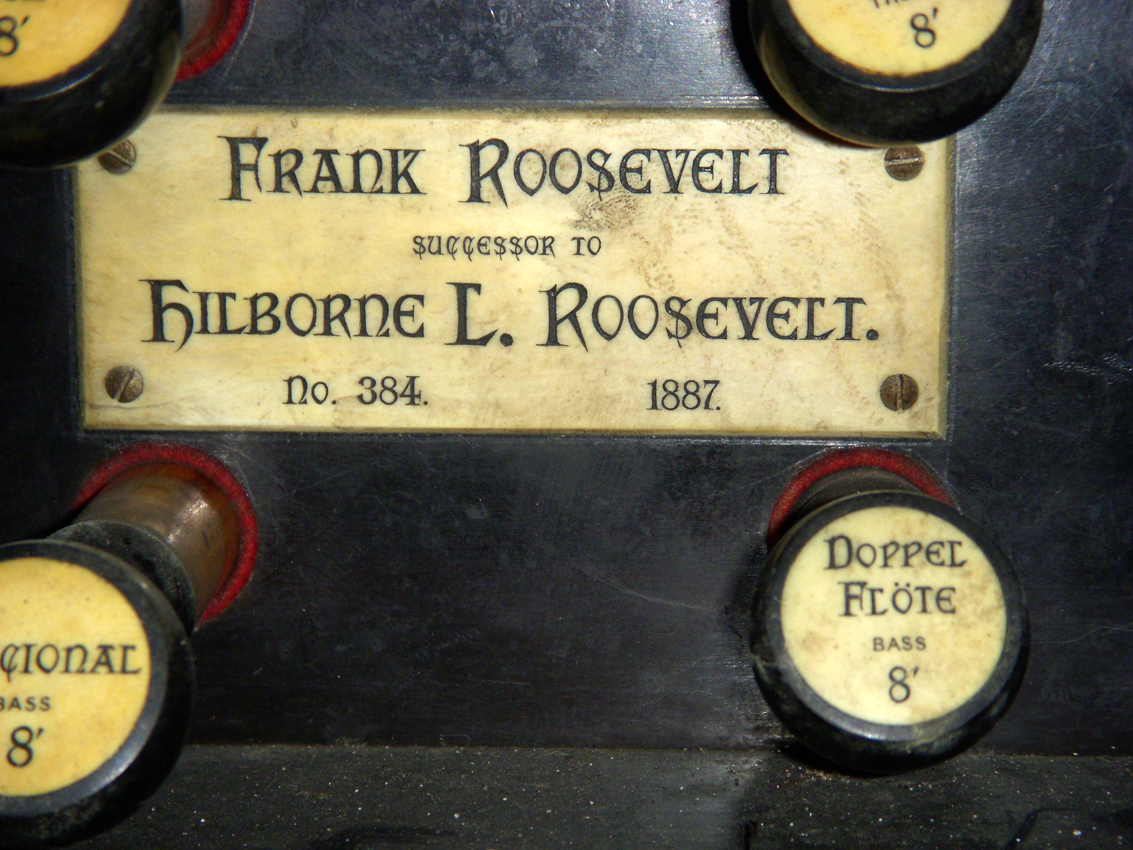 Frank Roosevelt organ, Op. 384 (1888) in St. Paul Evangelical Reformed Church - Bronx, N.Y. (photo: Dave Schmauch)