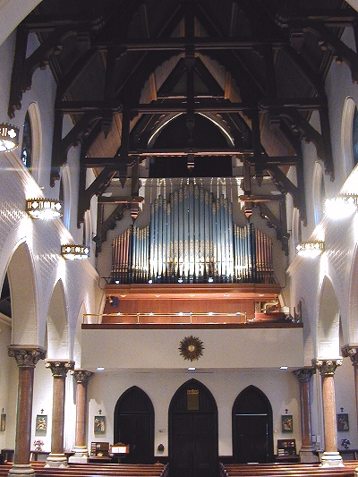 Austin Organ, Op. 2096 (1947) - St. Peter's Episcopal Church, Westchester Square - Bronx, N.Y. (Photo: Ken Potter)