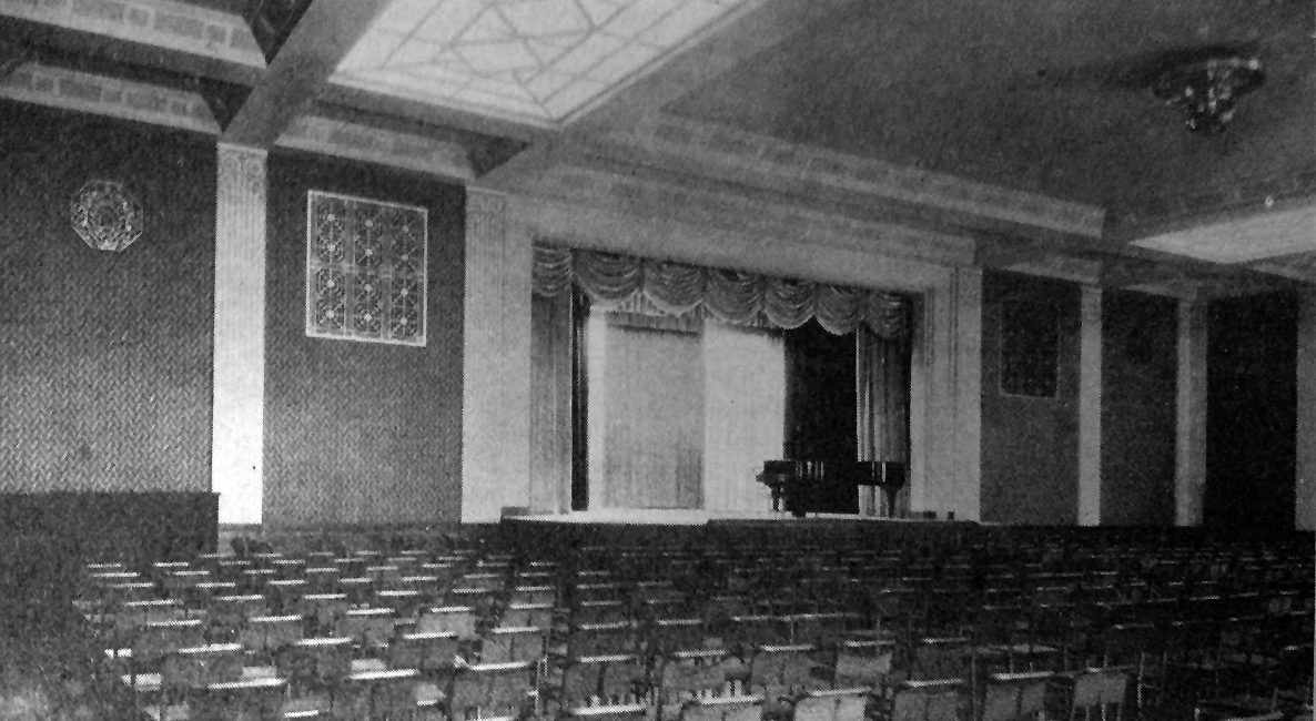 Auditorium and Ballroom o American Woman's Association Clubhouse - New York City