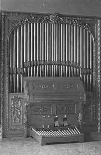 Art Organ Company Organ (1906) in Art Salon of Steinway Hall - New York City (August Patzig)