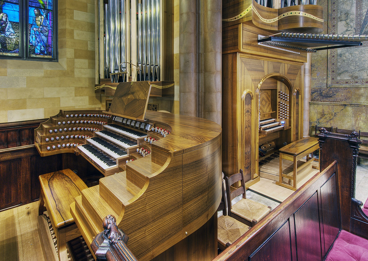 Pascal Quoirin organ (2010) in Church of the Ascension (Episcopal) - New York City (photo: Tom Ligamari)