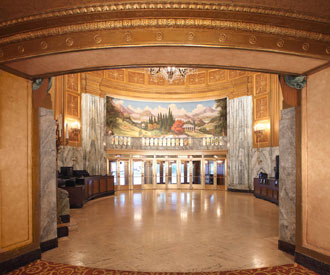 Restored Lobby of the Beacon Theatre - New York City (photo: Madison Square Garden Entertainment)