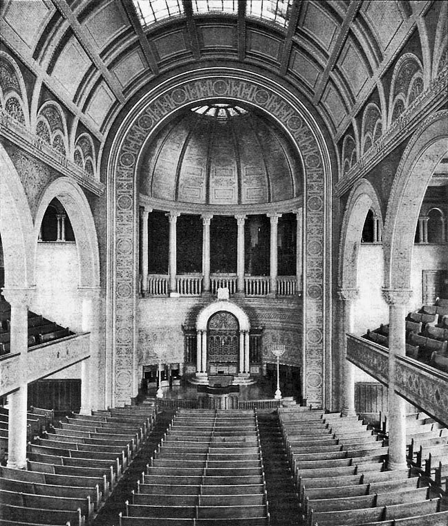 Temple Beth-El - New York City (Odell Organ Co. Brochure, 1896)