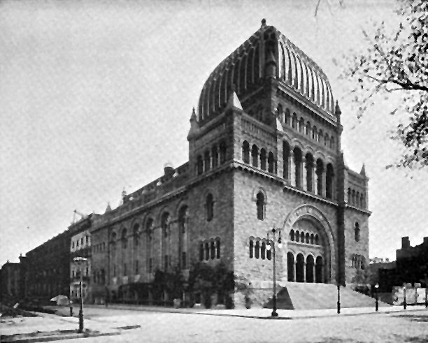 Temple Beth-El - New York City (ca. 1895)